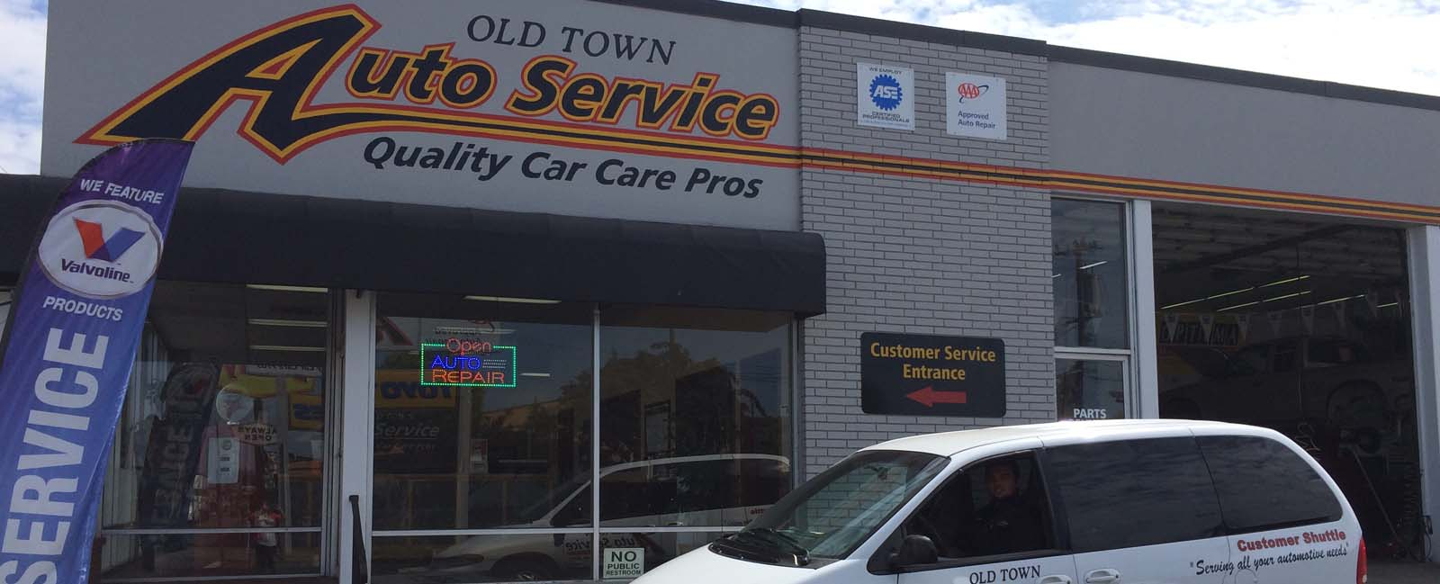 Old Town Brake & Auto Service - auto repair shop in Eureka