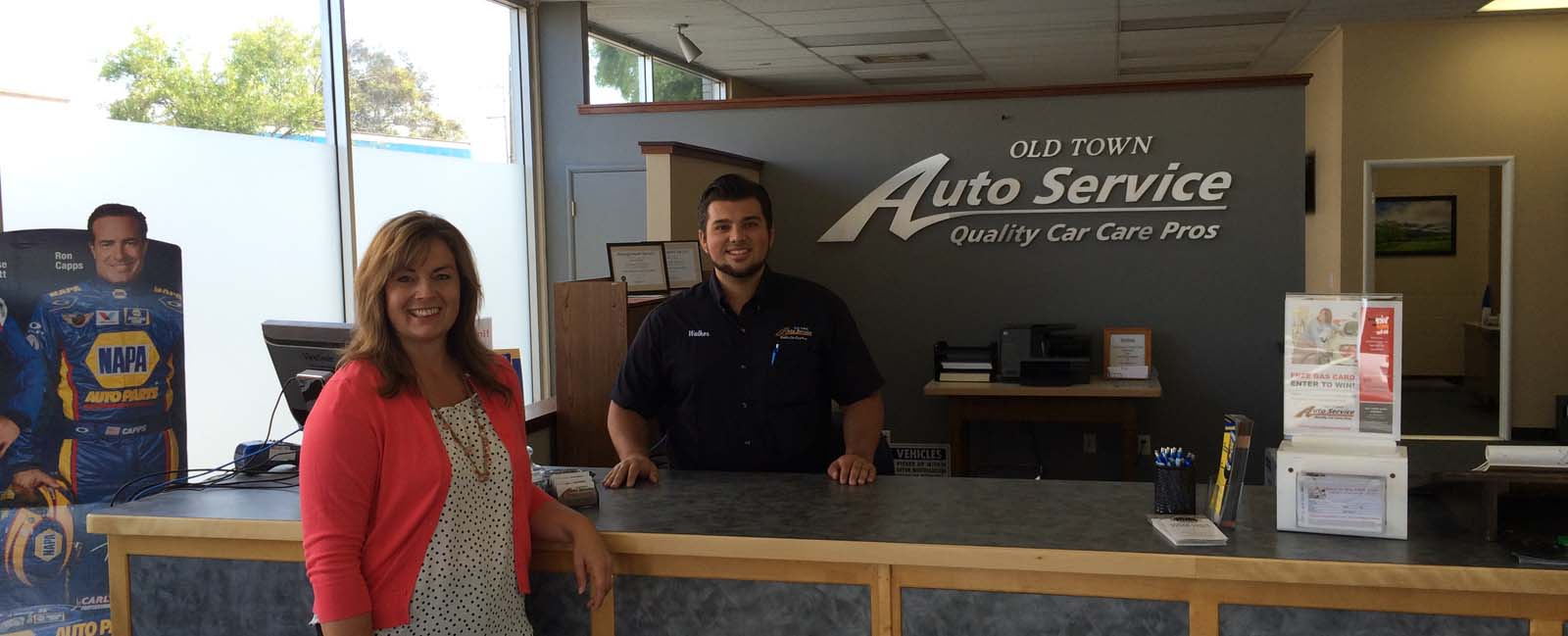 Old Town Auto Service, quality auto repair shop in Eureka CA